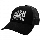 Josh Turner Black and Charcoal Ballcap