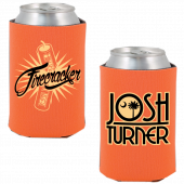 Josh Turner Orange Firecracker Koozie