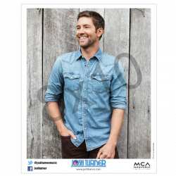 Josh Turner 8x10- Denim Shirt