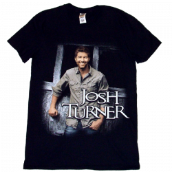 Josh Turner Black Photo Tee