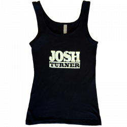 Josh Turner Ladies Black Tank