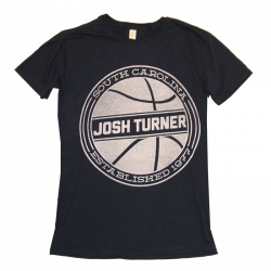 Josh Turner Ladies Navy Basketball Tee
