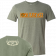 Josh Turner Heather Military Green Tee- Backwoods Boy