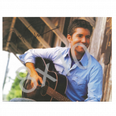 "Josh Turner 8-1/2"" x 11"" Horizontal Photo"