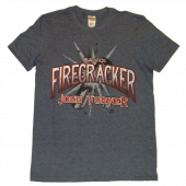 Josh Turner Heather Navy Firecracker Tee