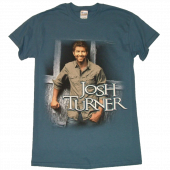 Josh Turner Indigo Blue Tour Tee