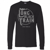 Josh Turner Long Sleeve Black Tee- Long Black Train