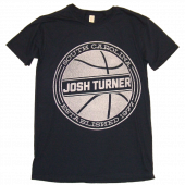 Josh Turner Navy Basketball Tee