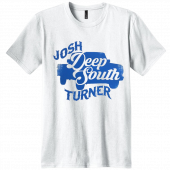 Josh Turner  White Deep South Tour Tee