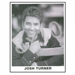 Josh Turner 8x10- Black and White
