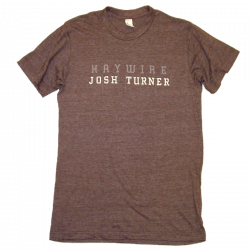 Josh Turner Heather Espresso Haywire Tee