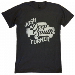 Josh Turner 2017 Heather Graphite Tour Tee