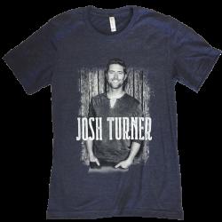 Josh Turner 2018 Heather Navy Photo Tee