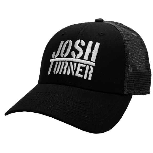 Josh Turner Black and Charcoal Ballcap
