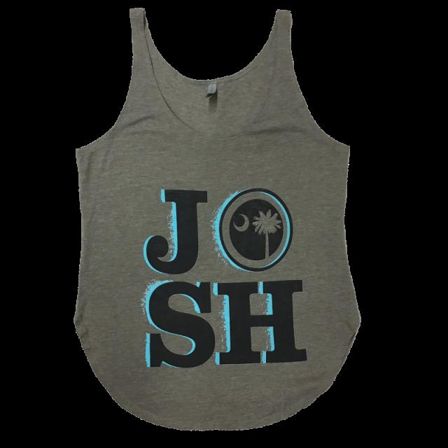 Josh Turner Ladies Ash Tank