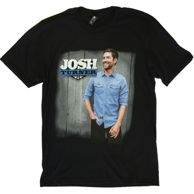Josh Turner All About You Black Tour Tee- ADULT and YOUTH Sizes Available
