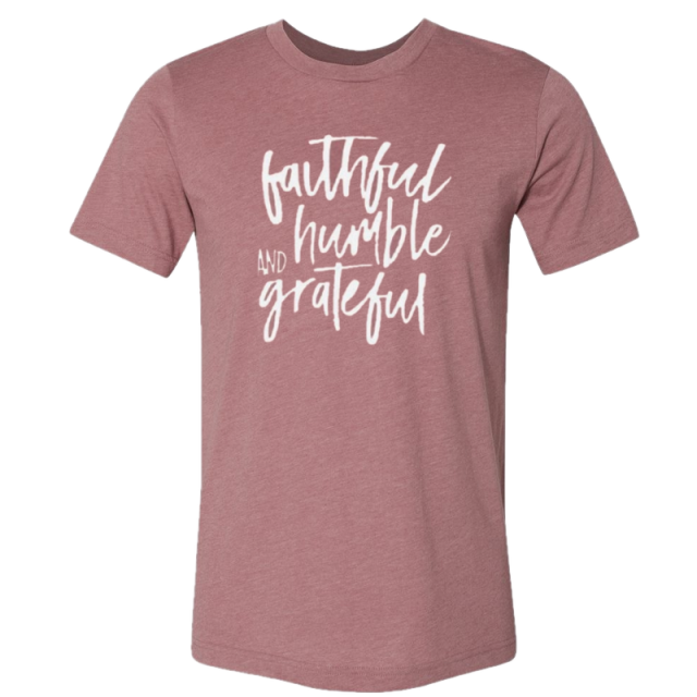 Josh Turner Heather Mauve Tee