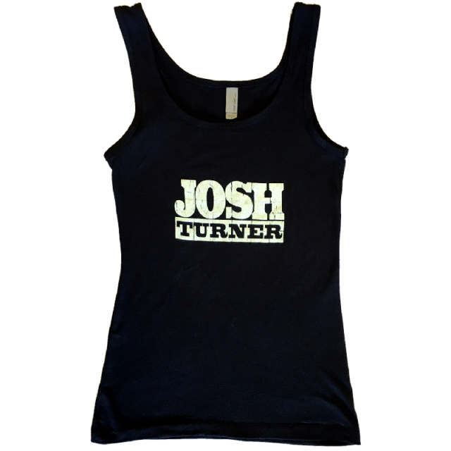 Josh Turner Ladies Black Tank